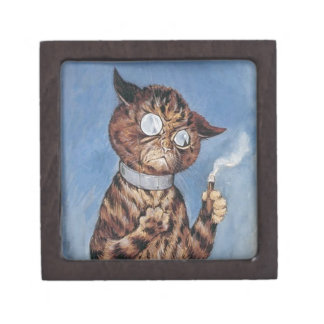 Cat With A Cigar Gift Box