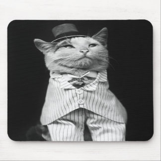 Cat With a Hat, 1906 Mouse Pad