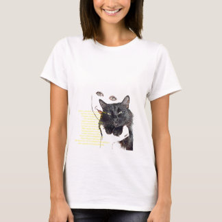 Cat with a Rhyme T-Shirt