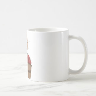 Cat with apples coffee mugs