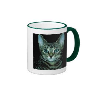 Cat with Aqua Eyes Customize pet house Eye Mug