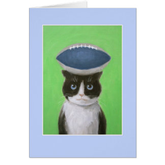 Cat with Ball Card