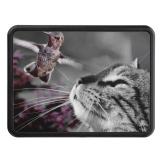 Cat with Bird Hitch Cover
