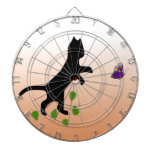 Cat With Butterfly Dartboards