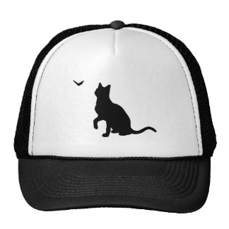 Cat with Butterfly Hat