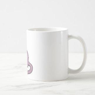 Cat with closes eyes coffee mug