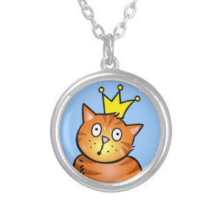 Cat with Crown - Necklace