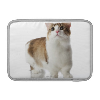Cat with short feet MacBook sleeve