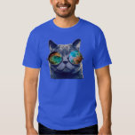 Cat With Space Glasses T-Shirt