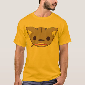 Cat with Swirl Lolipop T-Shirt