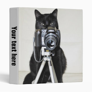 Cat with the camera -  Binder