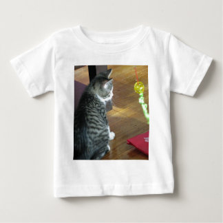 Cat with Toy Baby T-Shirt