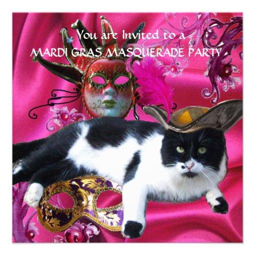 Cat Mask Masquerade Ball Party