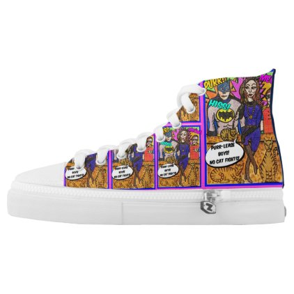 Cat woman High Top Sneakers