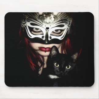 CAT WOMAN Mousepad