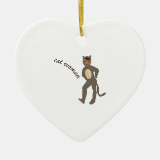 Cat Woman Ornament