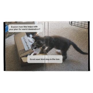 Cat World Domination iPad Folio Cover