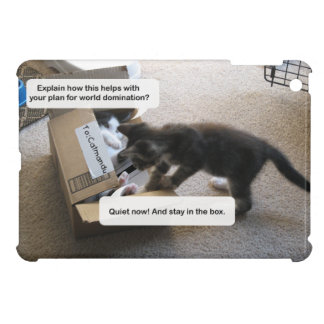 Cat World Domination iPad Mini Case