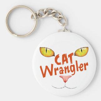 Cat Wrangler Key Chains