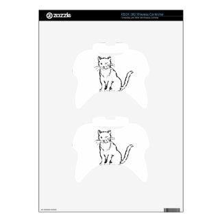 Cat Xbox 360 Controller Skins