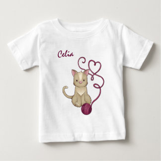 cat yarn club baby T-Shirt