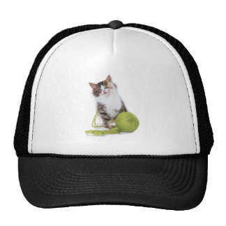 Cat_yarn Trucker Hat