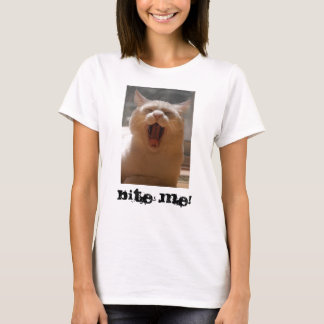 Cat Yawn - Customized T-Shirt