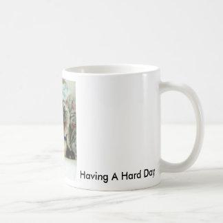 Cat Yawn Coffee Mug