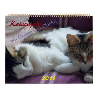 Cat year calendar