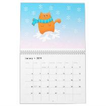 Cat Year of Cuteness Calendar