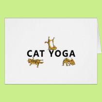 cat yoga card