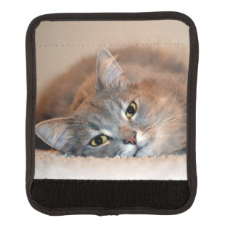 Cat Luggage Handle Wrap