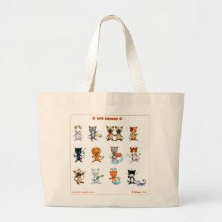 Cat Zodiac Bag