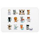 Cat Zodiac magnet