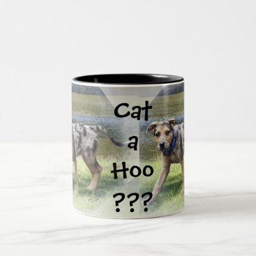 Coffee Themed CATA HOO??? Two-Tone COFFEE MUG