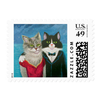 Cata Night Out Postage Stamp