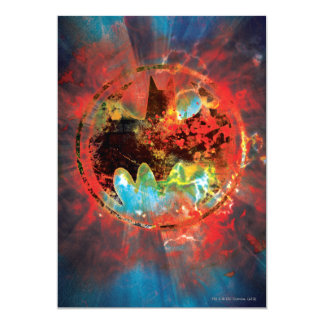 Cataclysmic Bat Logo Card
