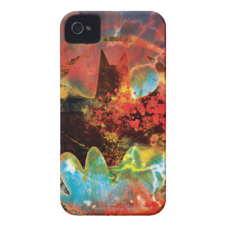 Cataclysmic Bat Logo iPhone 4 Case-Mate Case