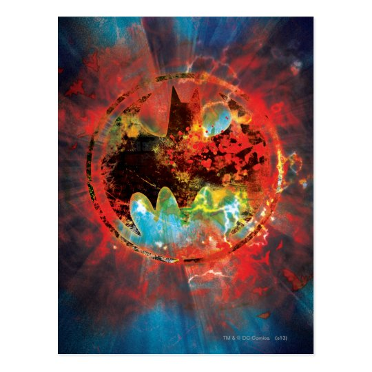 Cataclysmic Bat Logo Postcard