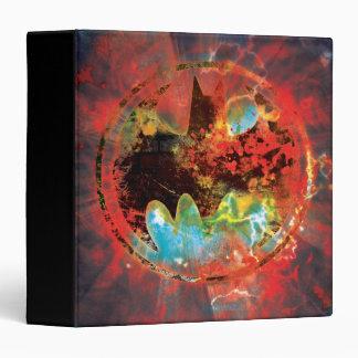 Cataclysmic Bat Logo Vinyl Binder