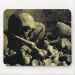 catacomb bones mouse pad