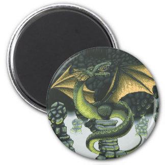 Catacomb Dragon Magnet