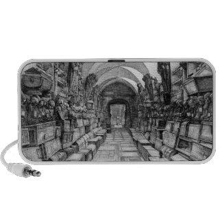 Catacombs Doodle Portable Speaker