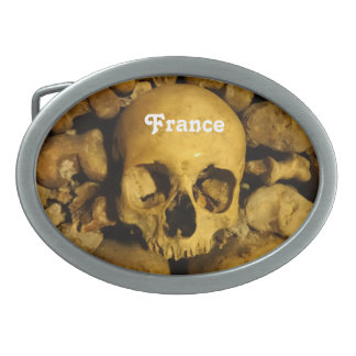 Catacombs in France Belt Buckle