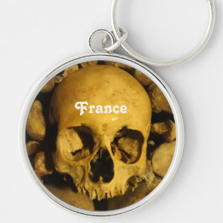 Catacombs in France Keychain
