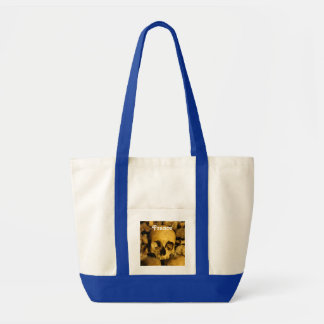 Catacombs in France Tote Bag