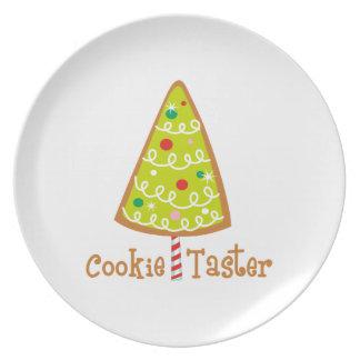Catador de la galleta platos de comidas