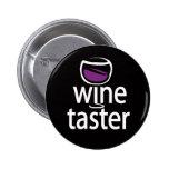 Catador del vino pin