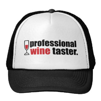 Catador profesional del vino gorra