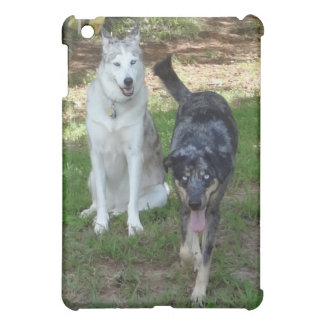 Catahoula and Ausky Dog Buddies iPad Mini Covers